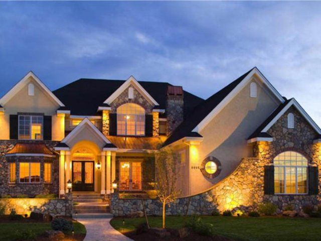 Decorating Ideas For Dream House Design   4 Home Ideas Elegant Dream House Lanscaping Idea