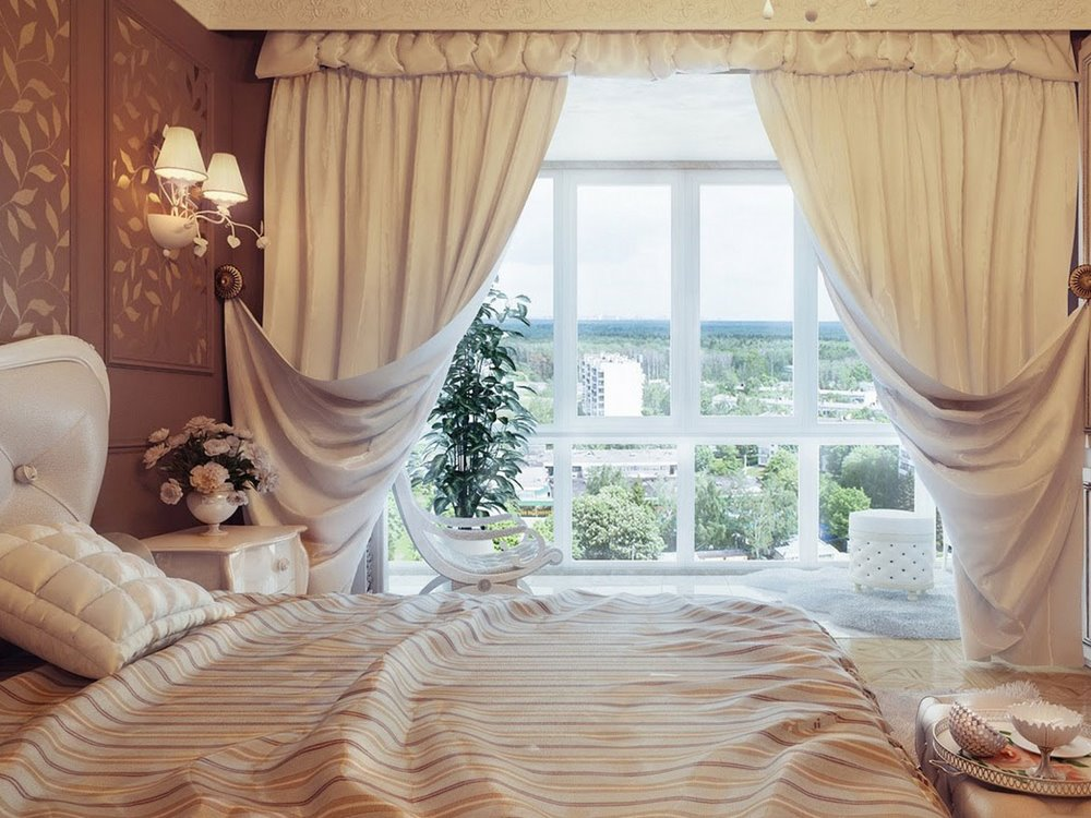 Beautiful Curtain Design Selection For Minimalist Home ... on Beautiful Bedroom Curtains  id=52182