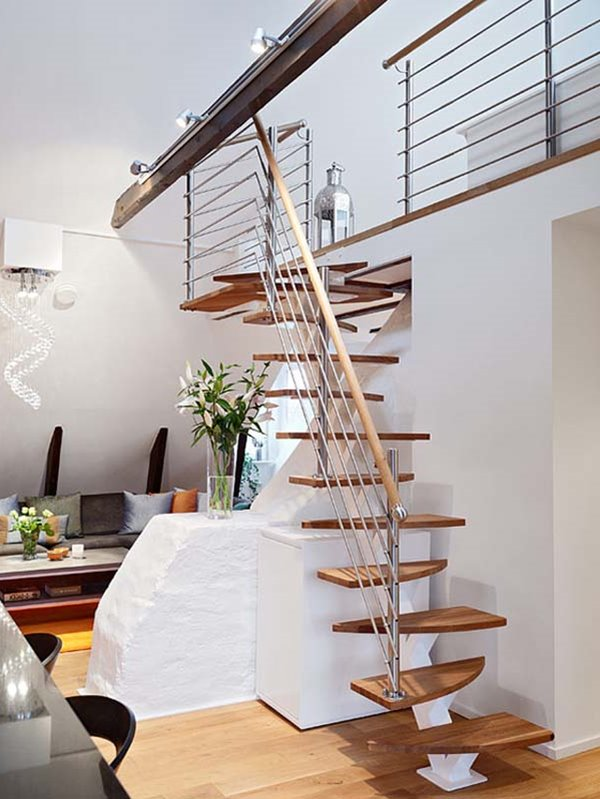 Simple Staircase Design When Railing Is More Then A Need. 10 Simple Elegant  And Diverse Wooden Staircase Design Ideas