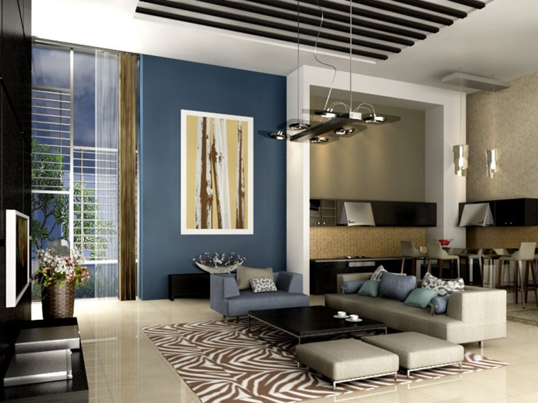 Simple Modern Home Interior Paint Color Selection   2020 Ideas on Modern House Painting  id=12696