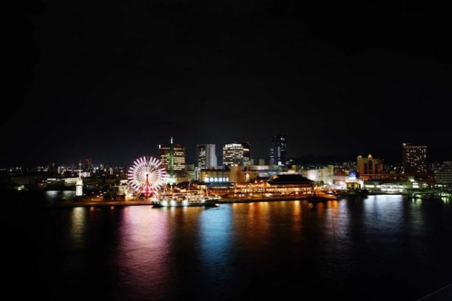 神戸港の夜景