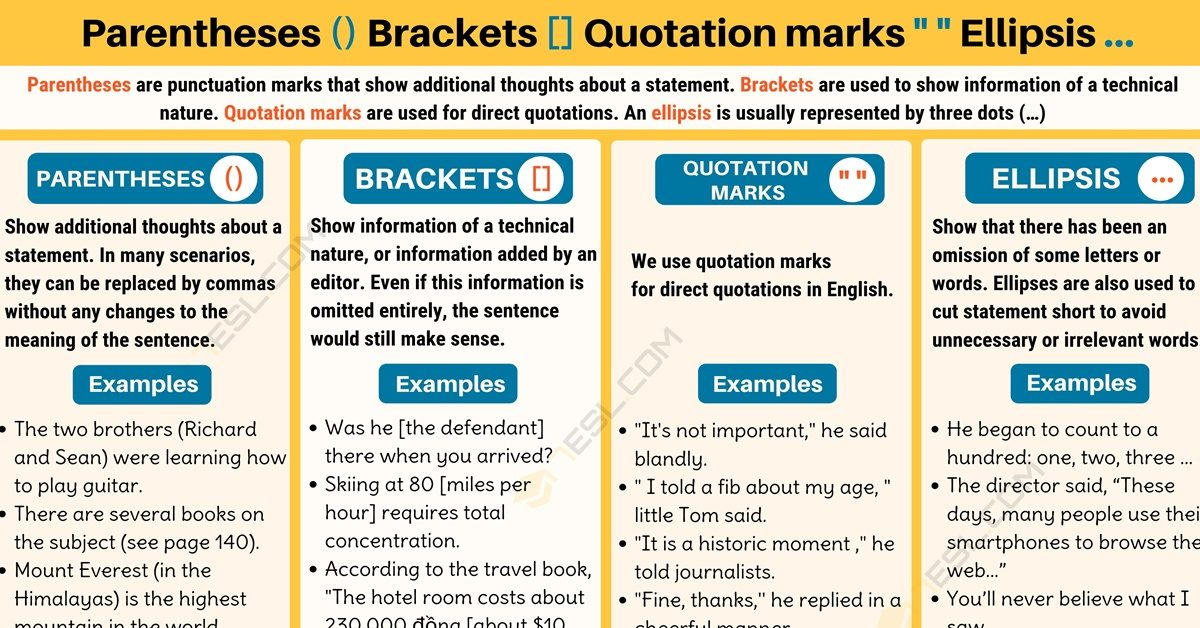Quotation Rules And Examples