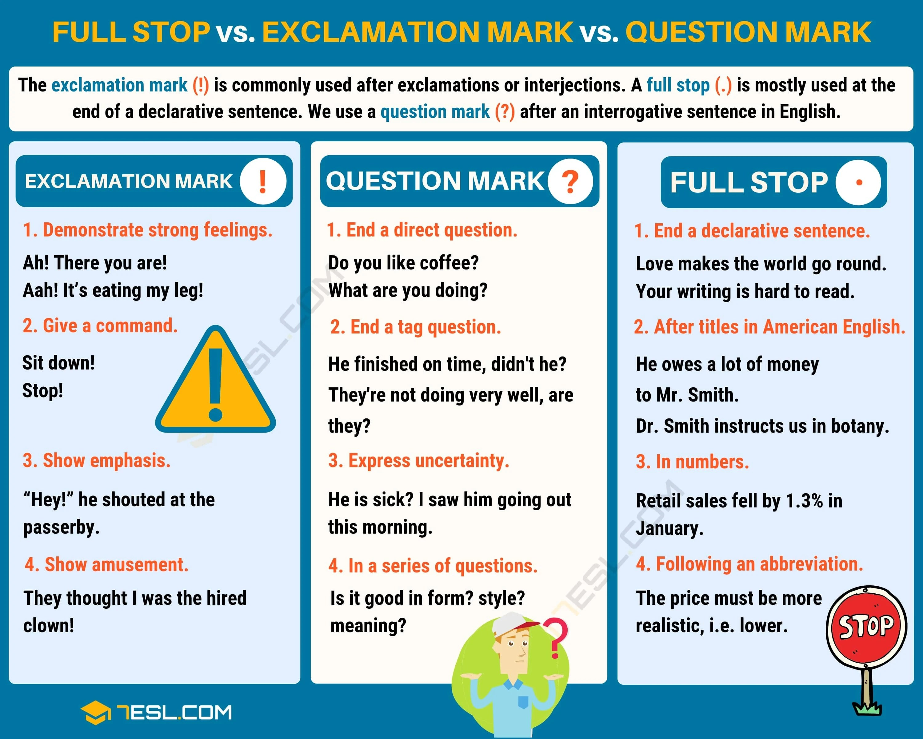 Question Mark How To Use Question Marks With Examples
