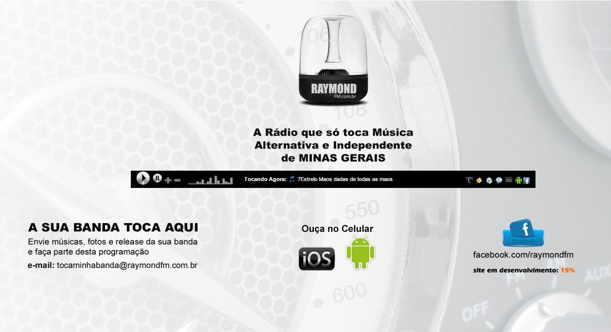 7 Estrelo marca estreia da rádio virtual RaymondFM
