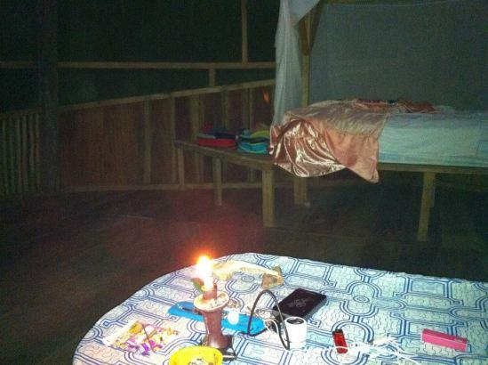 夜晚的房間