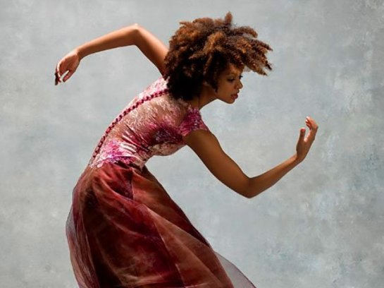Photo of Fana Tesfagiorgis by Alvin Ailey