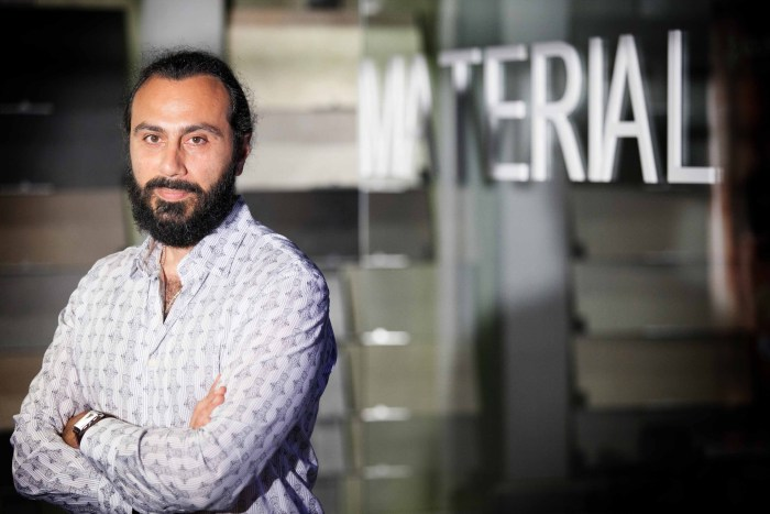 Lazaros Theodoridis|Material World Co-owner