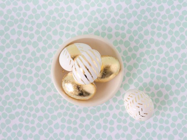 gold-leaf-easter-eggs