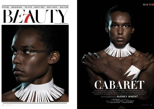 Cabaret – Beauty Editorial by Audrey Wnent for 7Hues Issue 17
