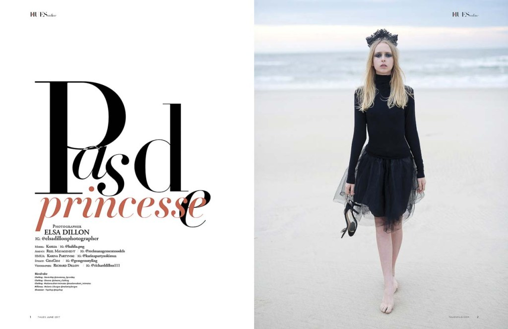 Pas de Princesse by Elsa Dillon for 7HuesOnline