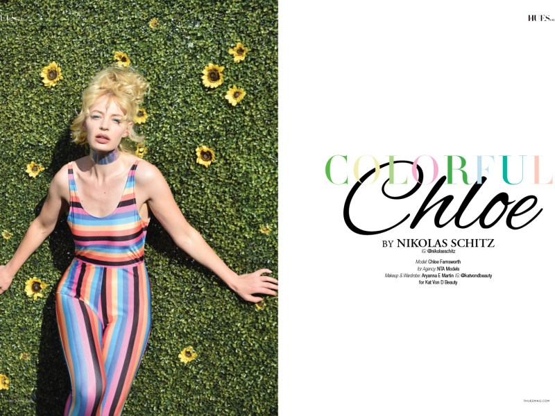 Colorful Chloe – single web