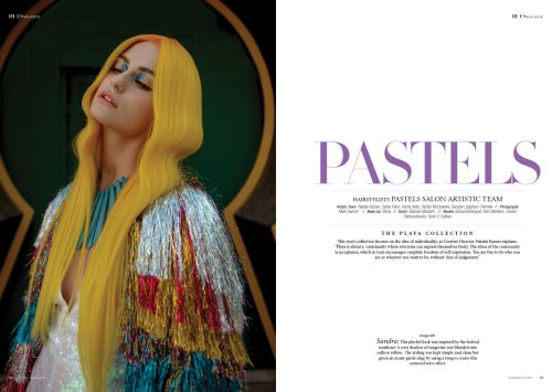 The Playa Collection by Pastels Salon Artistic Team for 7Hues Hair