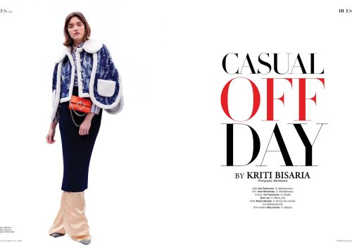 """""""Casual Off Day"""" for 7Hues Online by Kriti Bisaria"""