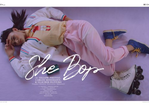 """She Bop"" by by YELLOW PHOTOZ, Carlos Mossmann,  & Glauber Oliveira for 7Hues Online"