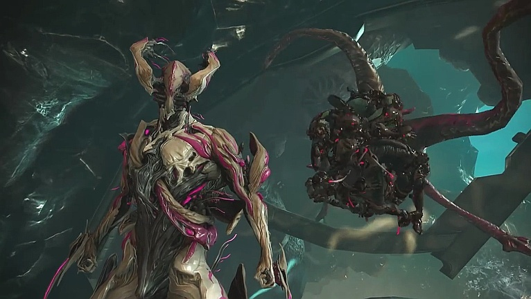 Warframe Gameplay Trailer Stellt Das Update Glass