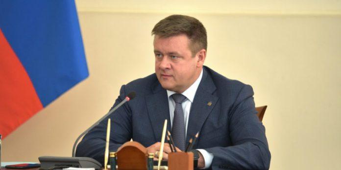 Николай Любимов, губернатор Рязанской области