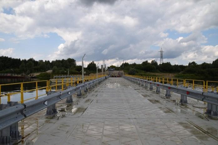Минтранс рассказал о суде после ремонта моста через Оку