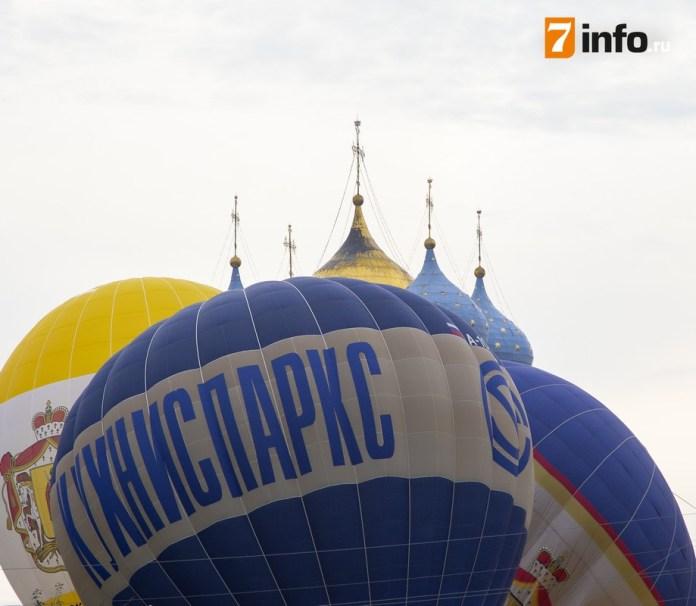 В Рязани отменили вечернее свечение шаров «Неба России»