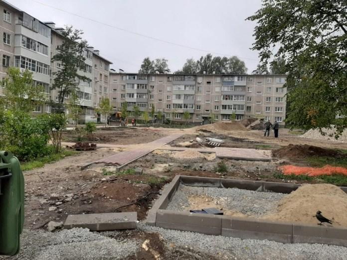 В Рязани благоустроят 9 дворов