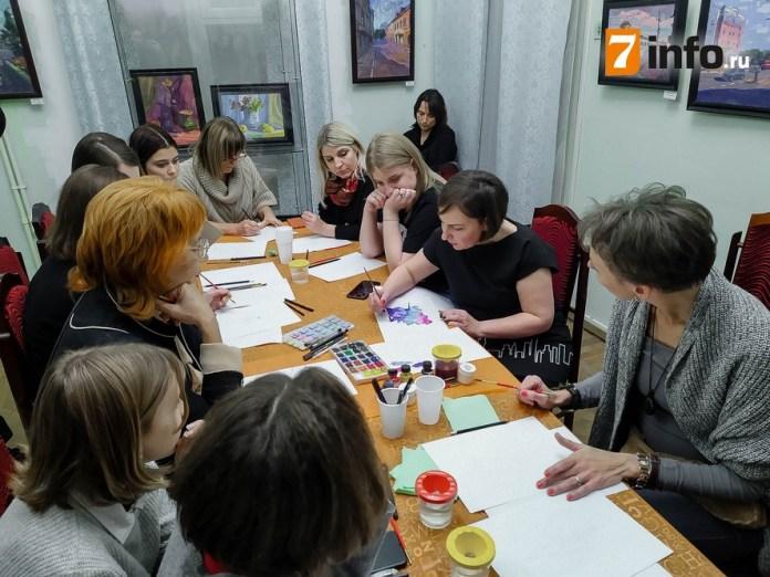На «Ночи искусств» рязанцы посетили мастер-класс по fashion-иллюстрации
