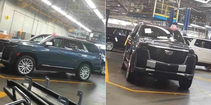 В Сети показали шпионские фото нового Cadillac Escalade