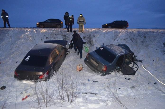 Девять человек пострадали в ДТП в Башкортостане