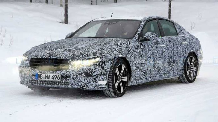 В Интернете показали новый Mercedes-Benz C-Class