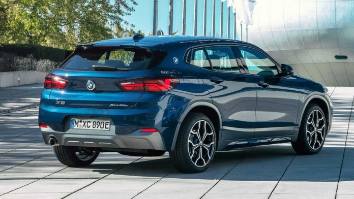 Представлен гибридный кроссовер BMW X2 xDrive25e