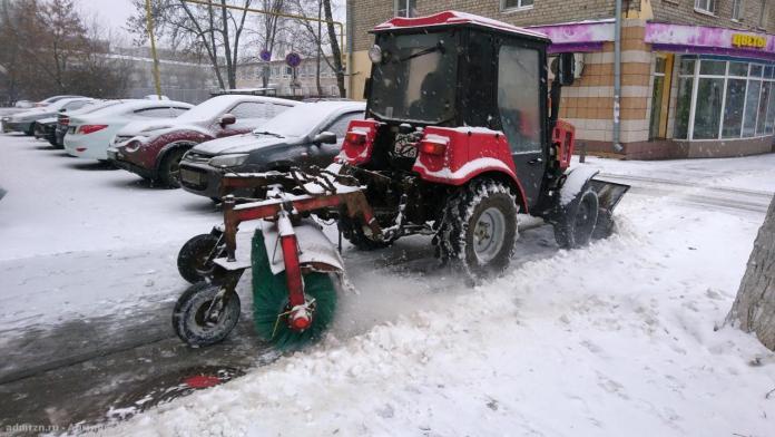 В Рязани городские службы работают в усиленном режиме