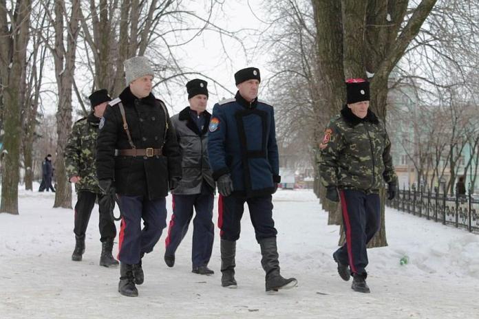 В праздничные дни за порядком в Рязани помогали следить 33 казака
