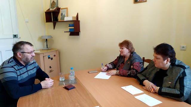Елена Митина провела личный прием граждан в Кораблинском районе