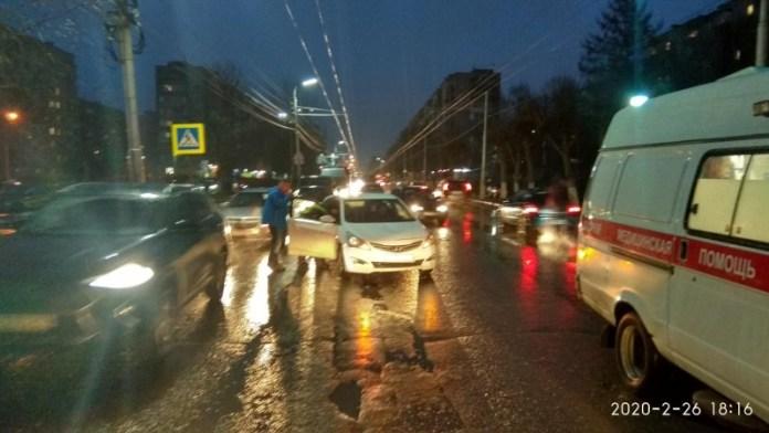 В Рязани на пешеходном переходе сбили пенсионерку