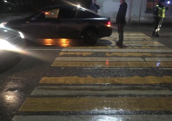 В Рязани автомобиль сбил пенсионерку с ребёнком