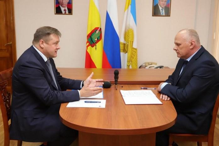 Губернатор встретился с главой Шацкого района