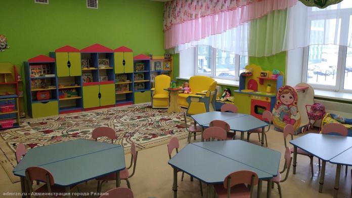 В Рязани готовятся к открытию новые ясли и детские сады