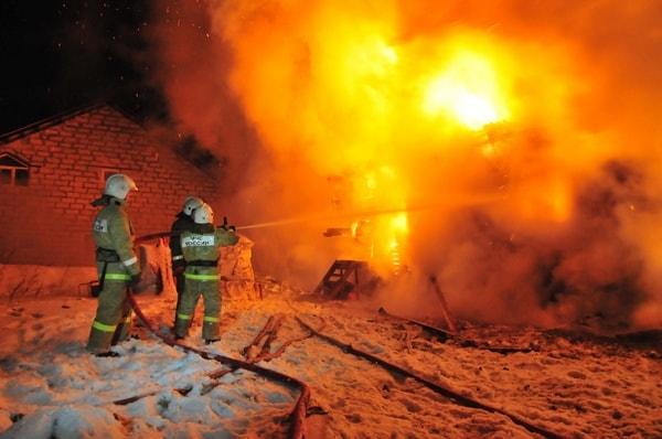На пожаре в Клепиковском районе погиб пожилой мужчина