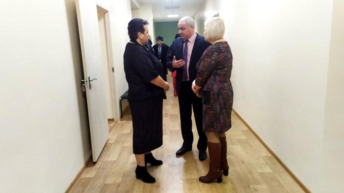 Елена Митина посетила Скопинский комплексный центр социального обслуживания населения