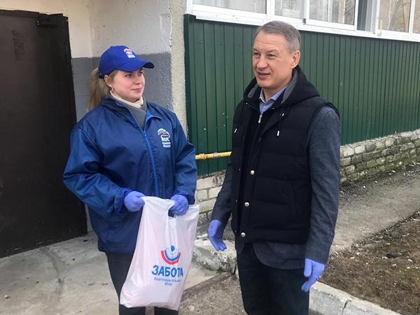 В Рязанской области создан корпус партийных волонтеров