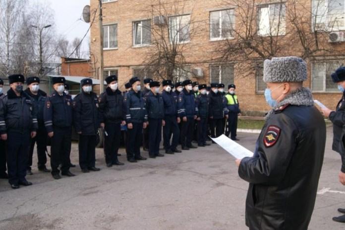 Рязанские полицейские проводят рейды по выявлению нарушителей режима самоизоляции
