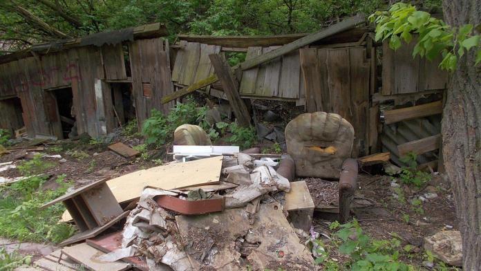 В Советском районе ликвидируют несанкционированную свалку