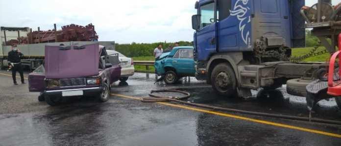 В Михайловском районе произошло массовое ДТП с летальным исходом