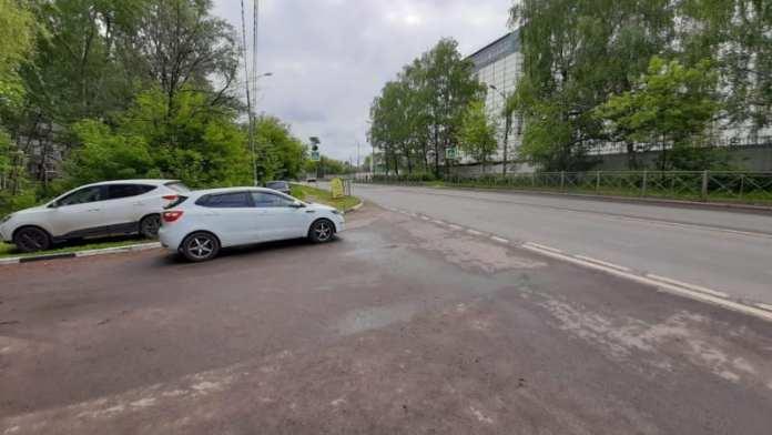 В Рязани на пешеходном переходе женщина попала под колёса автомобиля