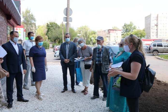 В Рязани продолжается благоустройство Севастопольской аллеи