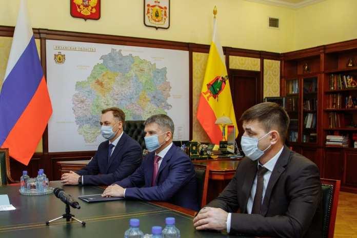 Губернатор Николай Любимов встретился с гендиректором «Россети Центр»