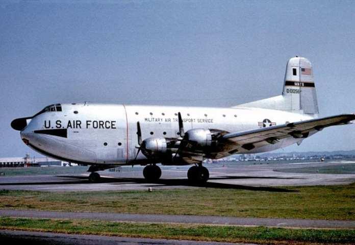 Самолет C-124 разбился в Татикаве