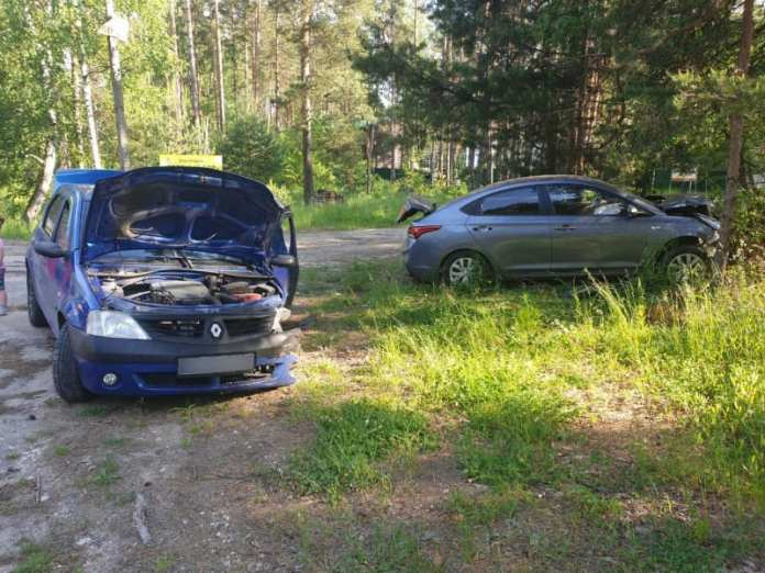 В ДТП в Рязанском районе пострадала молодая женщина