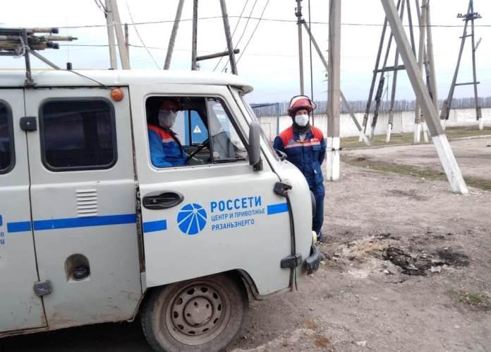 В Рязанской области непогода стала причиной перебоев с электричеством