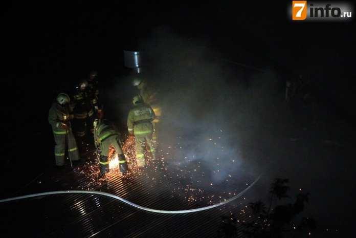 Появились подробности ночного пожара в пекарне в Рязани