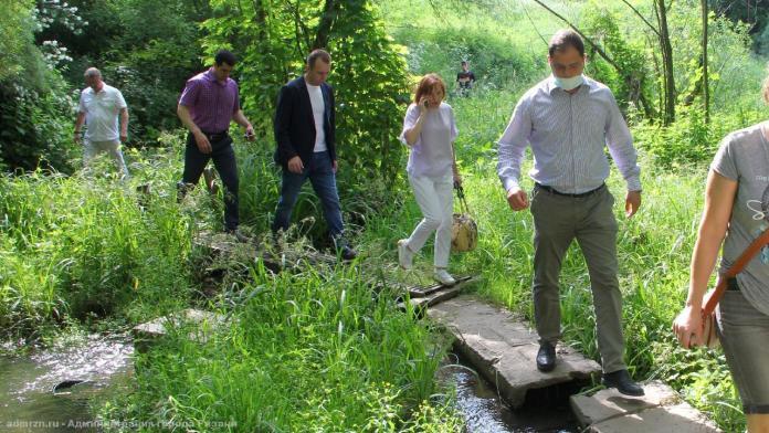 Ручей в Дашково-Песочне снова проверили на предмет загрязнения