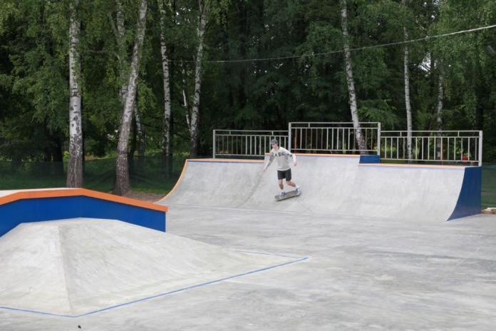 К Дню города в Рязани появится новый скейт-парк